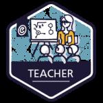 badge for teacher module