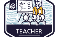 badge for teacher module